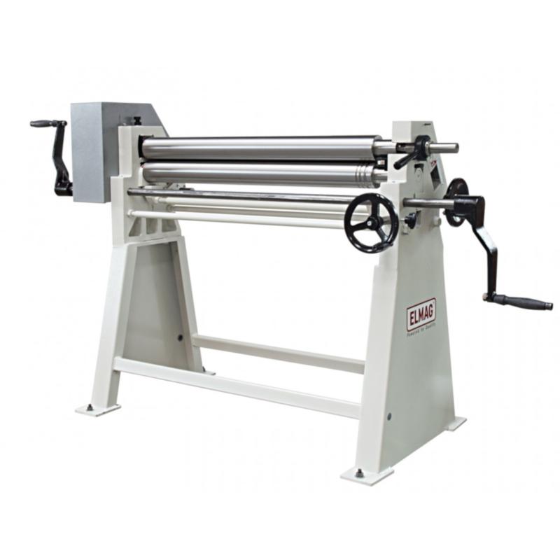 ELMAG AS 1050 x 1,5 kézi lemezhengerítő gép