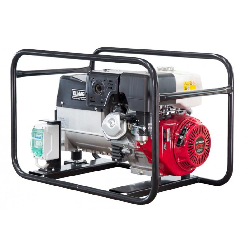 ELMAG SEB 6000W benzines áramfejlesztő