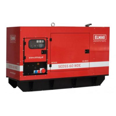 ELMAG SEDSS 60WDE diesel áramfejlesztő