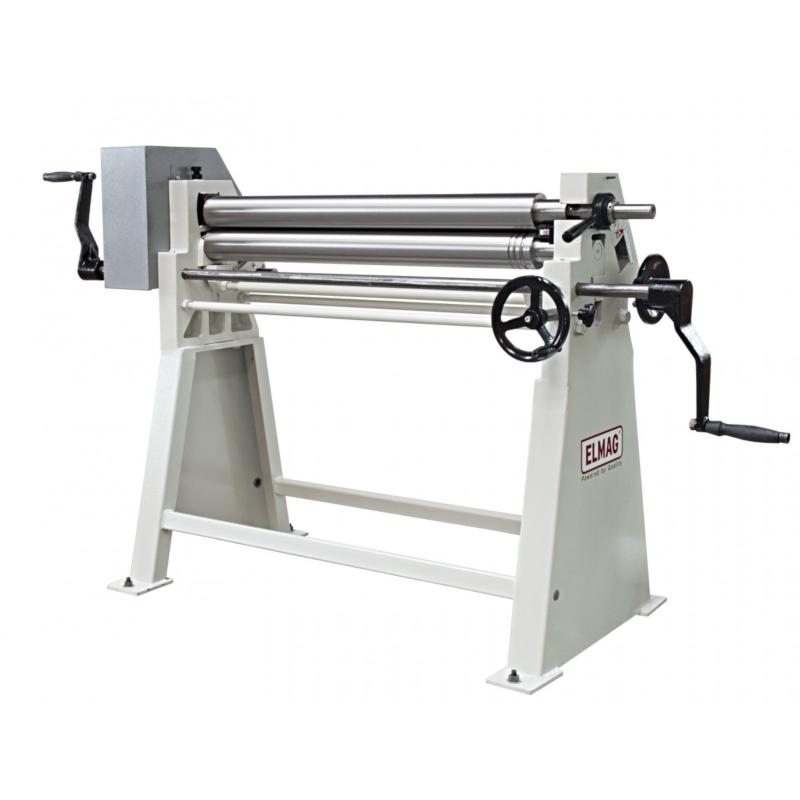ELMAG AS 1250 x 2,5 kézi lemezhengerítő gép