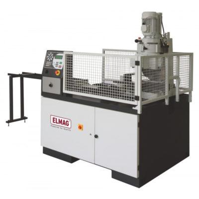 ELMAG VA 315 típusú függőleges hidraulikus CNC körfűrész gép