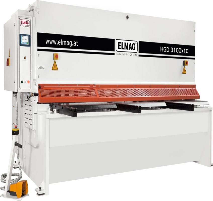 ELMAG HGD 3100 x 10 hidraulikus lemezolló